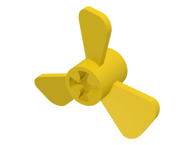LEGO Propeller 3 Blade 3 Diameter [Yellow] [6041]
