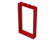 LEGO Door Frame 1 x 4 x 6 with Two Holes on Top and Bottom [Red] [60596]