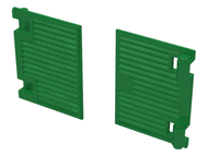 LEGO Window 1 x 2 x 3 Shutter with Hinges [Green] [60800]