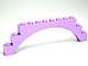 LEGO Brick, Arch 1 x 12 x 3 [Medium Lavender] [6108]