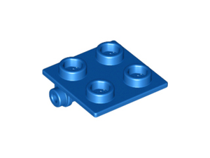 LEGO Hinge Brick 2 x 2 Top [Blue] [6134]