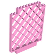 LEGO Belville Wall, Lattice 12 x 1 x 12 Square [Bright Pink] [6165]