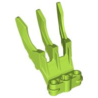 LEGO Bionicle Claw Small with Axle Hole [Lime] [61806]