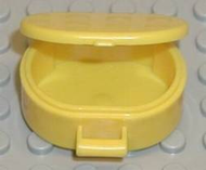LEGO Scala Utensil Oval Case [Yellow] [6203]