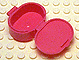 LEGO Scala Utensil Oval Case [Dark Pink] [6203]