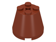 LEGO Cone 3 x 3 x 2 [Reddish Brown] [6233]