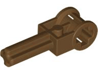 LEGO Technic Pole Reverser Handle [Brown] [6553]
