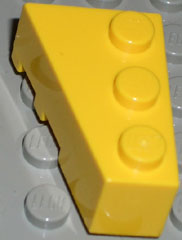 LEGO Wedge 3 x 2 Right [Yellow] [6564]