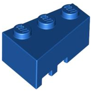LEGO Wedge 3 x 2 Right [Blue] [6564]