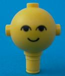 LEGO Homemaker Figure Head with Eyes and Smile Pattern [Yellow] [685px1]