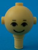 LEGO Homemaker Figure Head with Eyes, Eyebrows and Smile Pattern [Yellow] [685px4]