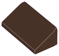 LEGO Slope 30 1 x 2 x 2/3 [Dark Brown] [85984]