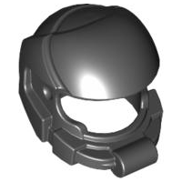 LEGO Minifigure, Headgear Helmet Space [Black] [87781]