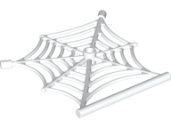 LEGO Spider Web with Bar [White] [90981]