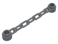 LEGO Chain 5 Links [Dark Bluish Gray] [92338]