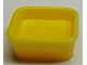LEGO Friends Accessories Dish, Rectangular [Yellow] [93082c]
