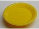 LEGO Friends Accessories Dish, Round [Yellow] [93082f]