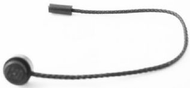 LEGO String with End Stud and Bar 1L, 13L Overall [Black] [93229]