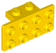 LEGO Bracket 1 x 2 - 2 x 4 [Yellow] [93274]