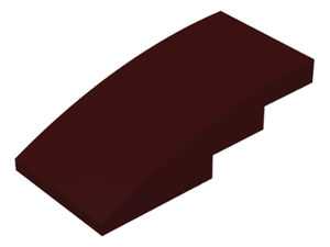 LEGO Slope, Curved 4 x 2 No Studs [Dark Brown] [93606]