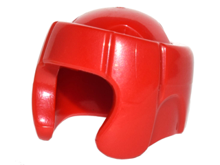 LEGO Minifigure, Headgear Helmet Boxing [Red] [96204]