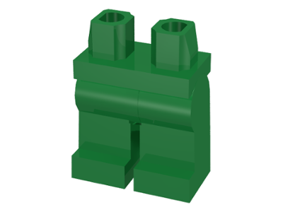 LEGO Hips and Legs [Green] [970c00]