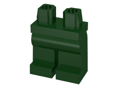 LEGO Hips and Legs [Dark Green] [970c00]