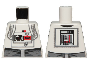 LEGO Torso SW AT-AT Driver Pattern [White] [973pb0270]