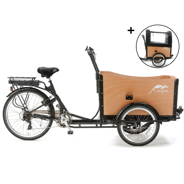 Cangoo Travel E-Bakfiets
