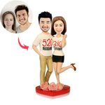 Fully Customized Bobblehead - 2 Persons - BobbleGifts