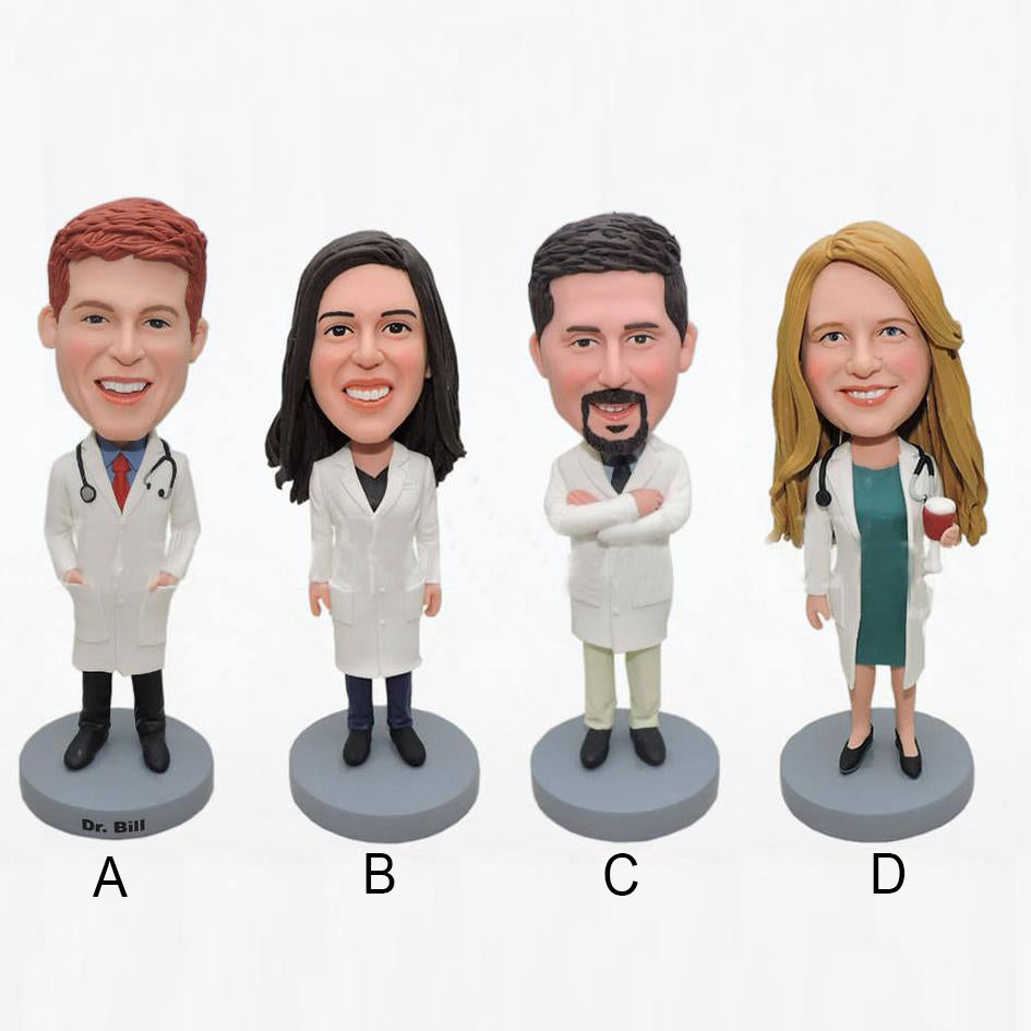 Custom Bobblehead for Doctor Office - BobbleGifts