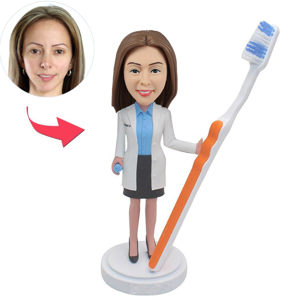 Custom Dentist Bobblehead Doll - BobbleGifts
