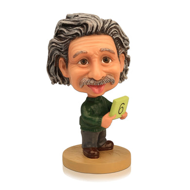 Custom Personalized Celebrities Albert.Einstein Bobble Head Dolls