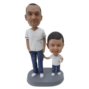 Custom Parents & Kids Bobble Head