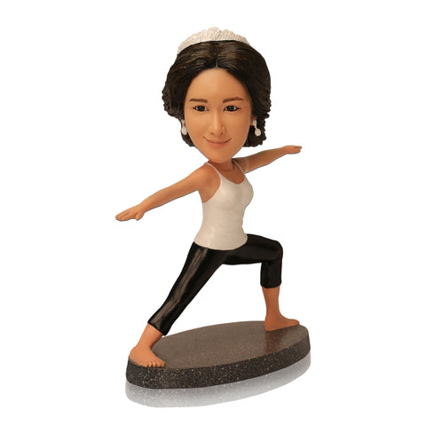 Personalized Custom Yoga Bobblehead