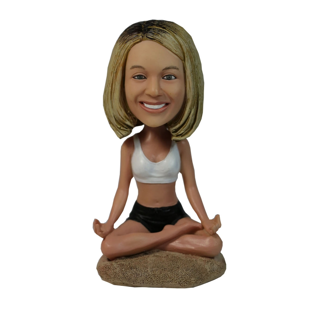 Personalized Custom Yoga Bobblehead - BobbleGifts