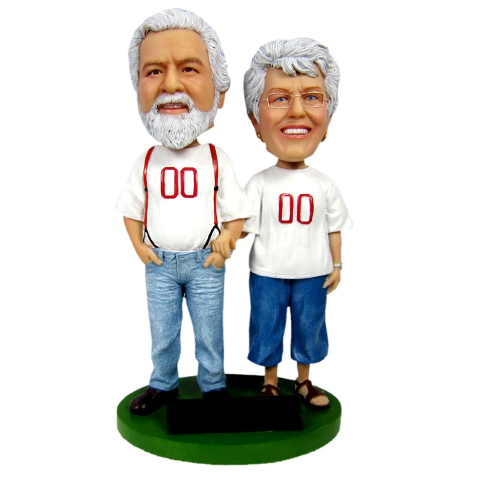 Custom Parents Anniversary Bobblehead - BobbleGifts