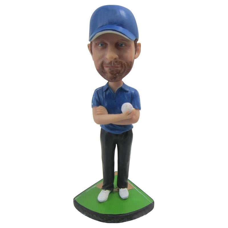 Baseball Coach Custom Bobbleheads - BobbleGifts