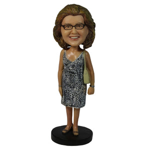 Custom Female Bobblehead Casual Wear Doll