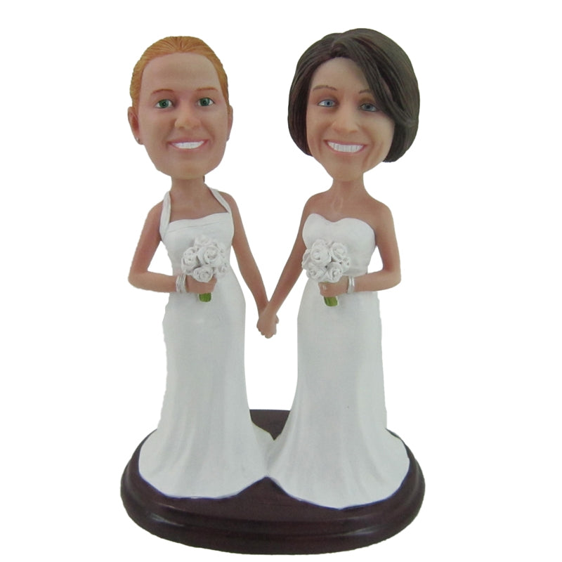 Custom Wedding Bridesmaid Bobbleheads - BobbleGifts