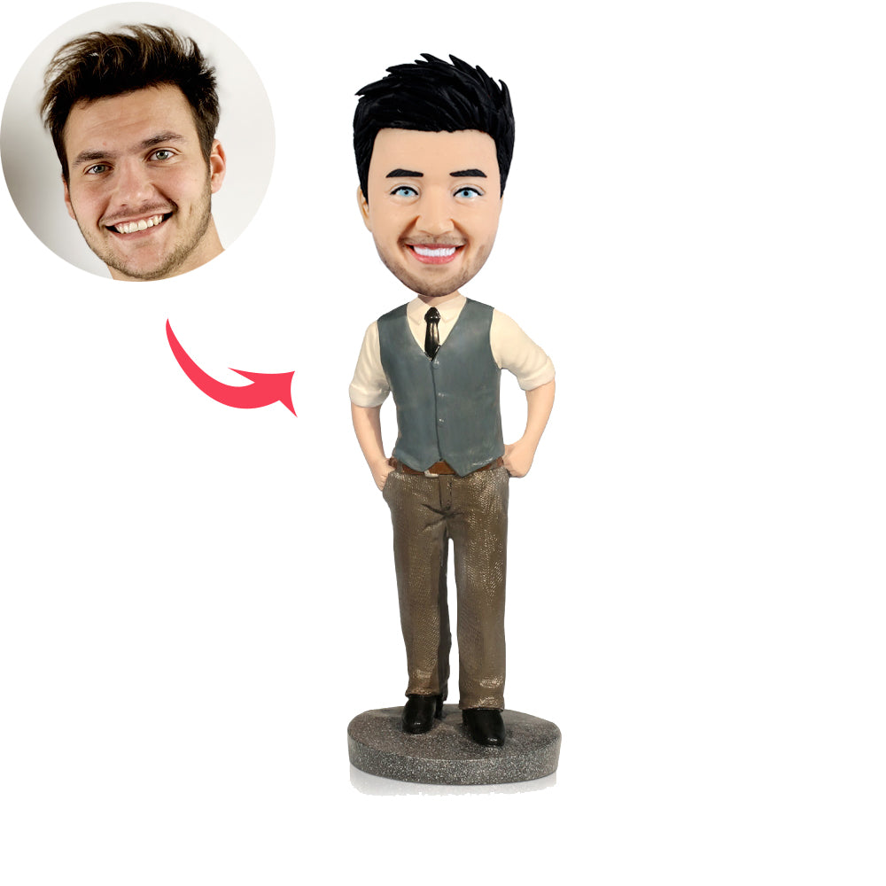 Custom Office Man Bobbleheads - BobbleGifts