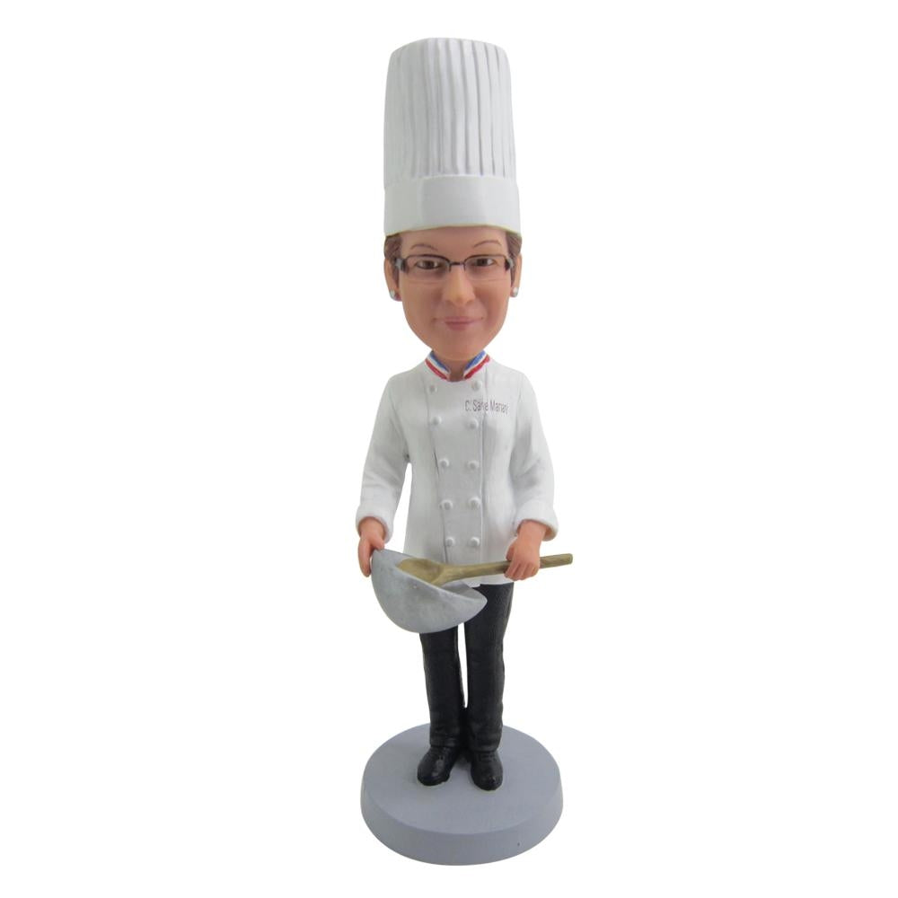 Custom Chef Bobble Head - BobbleGifts