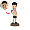 Tennis Player Custom Bobbleheads - BobbleGifts