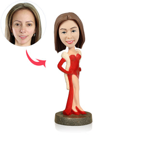 Custom Party Women Bobblehead - BobbleGifts