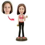 Custom Sports Women Bobbleheads - BobbleGifts