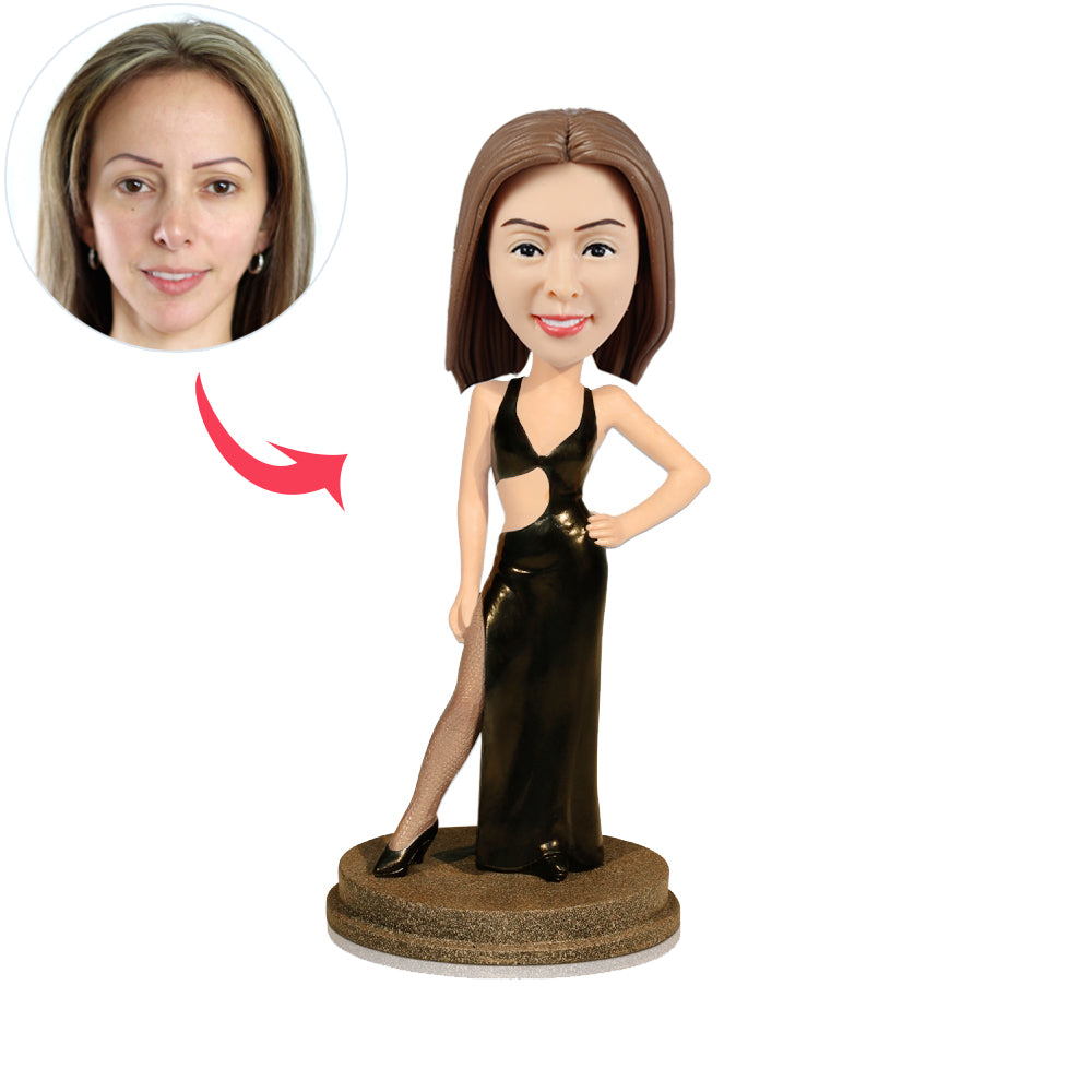 Sexy Lady Custom Bobbleheads - BobbleGifts