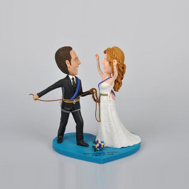 Funny Wedding Couples Personalized Custom Bobbleheads