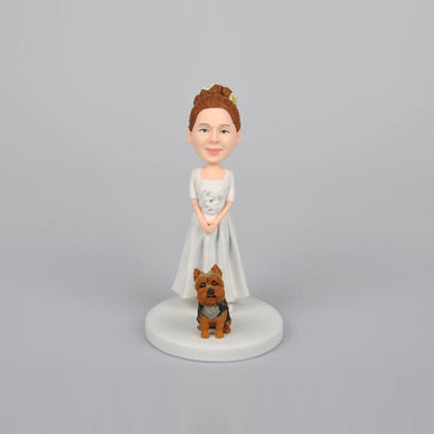 Wedding Mother of Bride Personalized Custom Bobbleheads