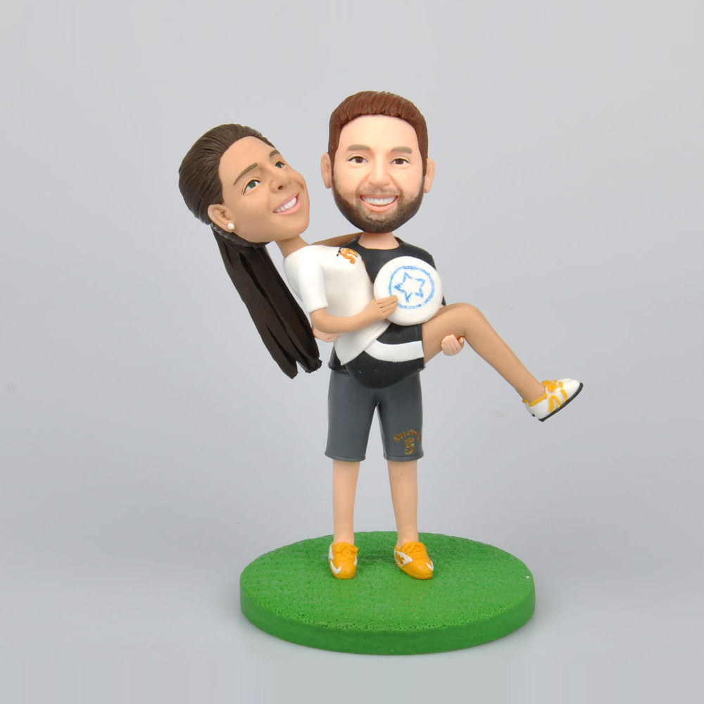 Sport Couples Custom Bobbleheads - BobbleGifts