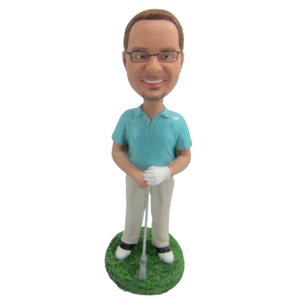 Golf Man Custom Bobblehead - BobbleGifts